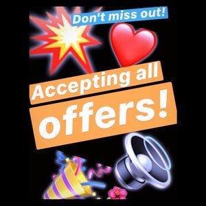 ⚡️💥🎉ACCEPTING ALL OFFERS ⚡️💥🎉Nothing To Loose!